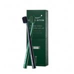 Swiss Smile Soft Toothbrush Kit, 1pc Sensitive-Soft Toothbrush Black + 1pc Sensitive-Soft Toothbrush Green