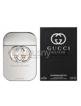 Gucci Guilty Woman Platinum Edition, Toaletná voda 75ml - tester