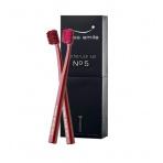 Swiss Smile No. 5 Toothbrush Kit, 1pc Sensitive-Soft Toothbrush Lotus Red + 1pc Ultra Soft Toothbrush Lotus Red