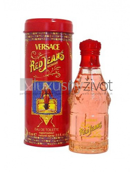 Versace Jeans Red, Toaletná voda 75ml - Tester