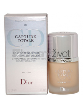 Christian Dior Capture Totale Radiance Serum Foundation 15 SFP Makeup 010, Pleťové sérum, emulzia - 30ml