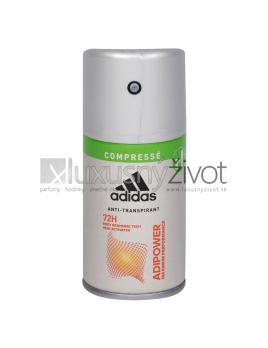 Adidas AdiPower, Antiperspirant 100ml, 72H